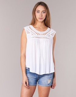 Clothing Women Tops / Sleeveless T-shirts Rip Curl AMOROSA TOP White