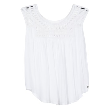Clothing Women Tops / Sleeveless T-shirts Rip Curl AMOROSA TOP White