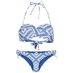 Clothing Women Bikinis Rip Curl DEL SOL BANDEAU SET Blue