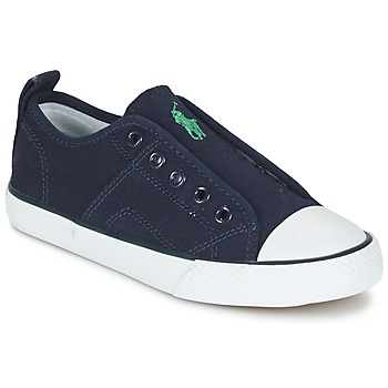 Shoes Boy Low top trainers Ralph Lauren RYLAND Marine
