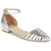Shoes Women Flat shoes Ravel MEDINA Silver