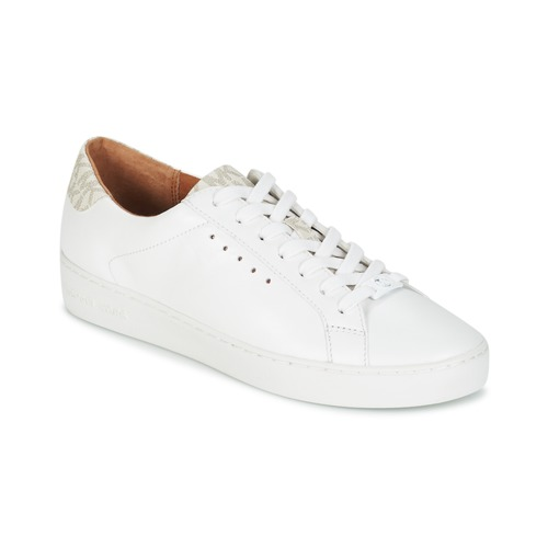 7e850bea1654 Shoes Women Low top trainers MICHAEL Michael Kors IRVING LACE UP White