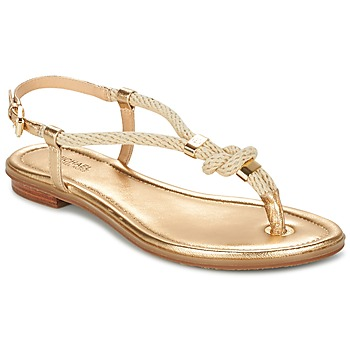 Shoes Women Sandals MICHAEL Michael Kors HOLLY Gold