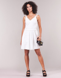 Clothing Women Short Dresses Love Moschino WVF3880 White