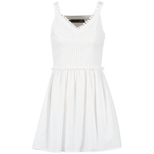 Clothing Women Short Dresses Love Moschino WVF3880 White