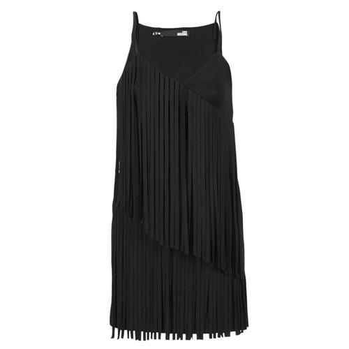 Clothing Women Short Dresses Love Moschino W595800 Black