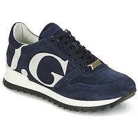 Shoes Men Low top trainers John Galliano 2424DA Blue / White