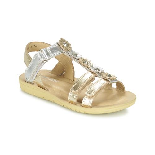 Shoes Girl Sandals Start Rite LUNA Gold