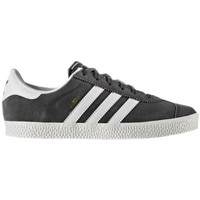 Shoes Children Low top trainers adidas Originals Gazelle 2 J Graphite-White