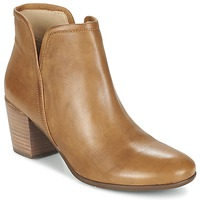 Shoes Women Ankle boots Geox LUCINDA B Curry