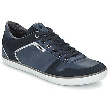Shoes Men Low top trainers Geox BOX DK / Royal / NAVY