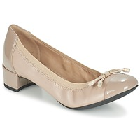 Shoes Women Heels Geox D CAREY A TAUPE