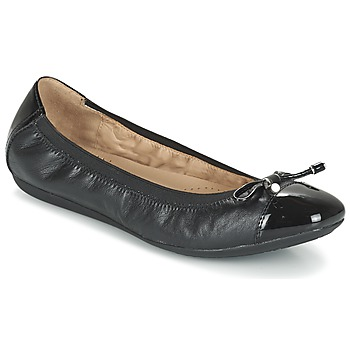 Shoes Women Flat shoes Geox D LOLA 2FIT C Black