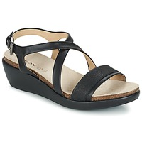 Shoes Women Sandals Geox D ABBIE A Black