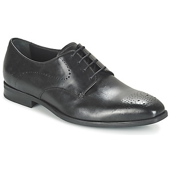 Shoes Men Derby Shoes Geox U NEW LIFE A Black