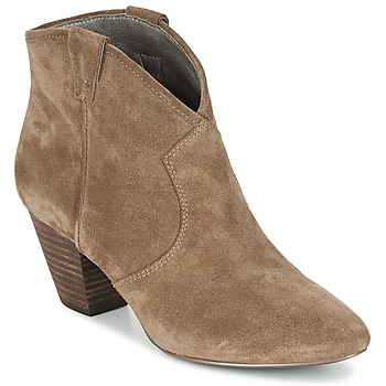 Shoes Women Ankle boots Ash JALOUSE Taupe