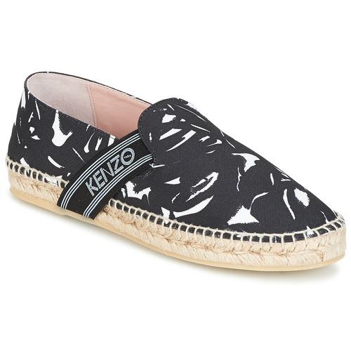 5d6eacdea Kenzo KAPRI Black - Free delivery | Spartoo UK ! - Shoes Espadrilles ...