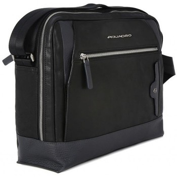 Bags Men Briefcases Piquadro REPORTER  BLACK Nero