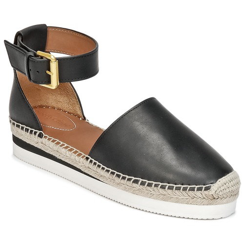Shoes Women Espadrilles See by Chloé SB26150 Black