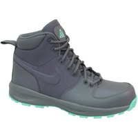 Shoes Children Hi top trainers Nike Manoa GS Grey