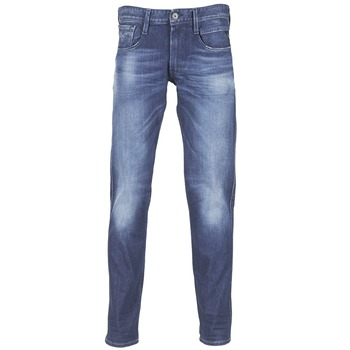 Clothing Men slim jeans Replay AMBASS Blue / MEDIUM
