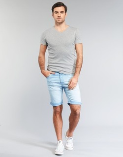 Clothing Men Shorts / Bermudas Replay RBJ901 Blue / TURQUOISE