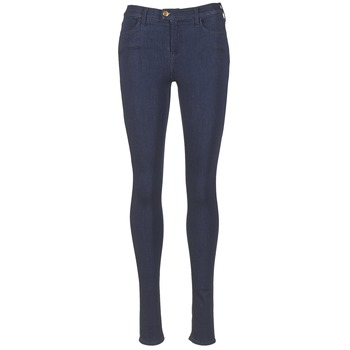 Clothing Women Skinny jeans Replay TOUCH Blue / Raw