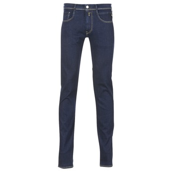 Clothing Men slim jeans Replay WOUAPO Blue / Raw