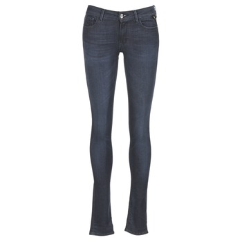 Clothing Women Skinny jeans Replay WALALA Blue / Raw