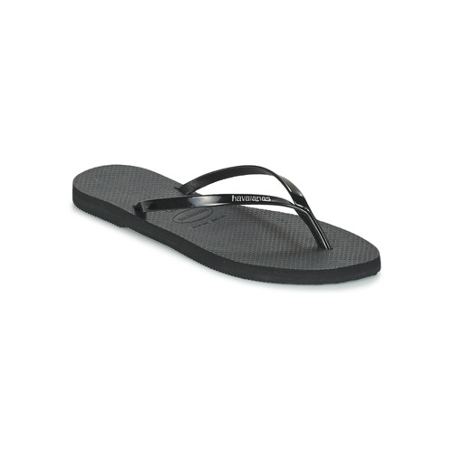 Shoes Women Flip flops Havaianas YOU METALLIC Black