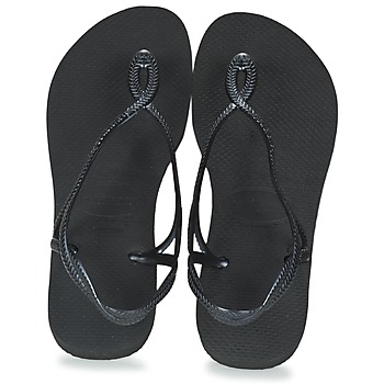 Shoes Women Flip flops Havaianas LUNA Black