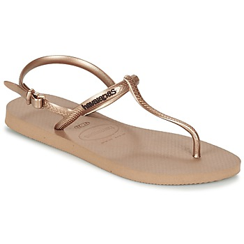 Shoes Women Sandals Havaianas FREEDOM Pink / Gold