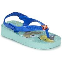 Shoes Children Flip flops Havaianas BABY DISNEY CUTIES Blue / Glacier