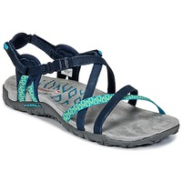 Shoes Women Outdoor sandals Merrell TERRAN LATTICE II Marine / Green