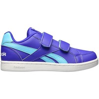 Shoes Children Low top trainers Reebok Sport Royal Prime White-Blue-Violet