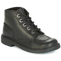Shoes Women Mid boots Kickers KICK COL PERM Black