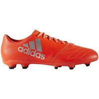 Shoes Men Football shoes adidas Originals X 163 FG Leather Red-Silver