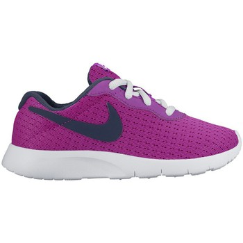 Shoes Children Low top trainers Nike Tanjun Violet-Black-White