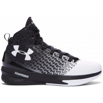 Shoes Men Basketball shoes Under Armour Clutchfit Drive 3 White-Black