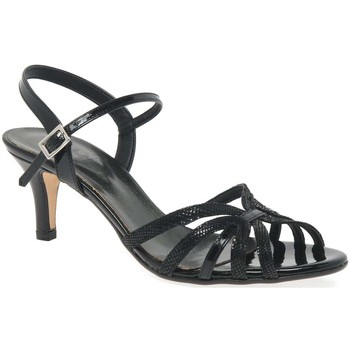 Shoes Women Sandals Hb Polly Womens Strappy Sandals black