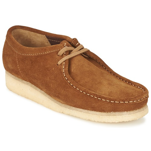 Shoes Men Derby Shoes Clarks WALLABEE Brown