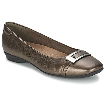 Shoes Women Flat shoes Clarks CANDRA GLARE Metallic