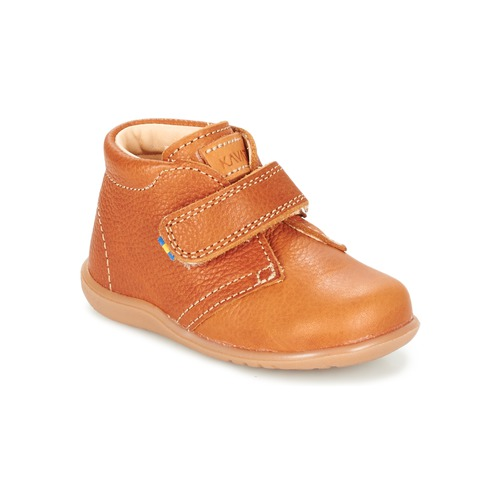 Shoes Children Mid boots Kavat HAMMAR Brown