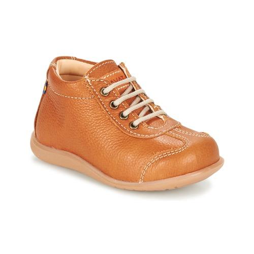 Shoes Children Mid boots Kavat ALMUNGE Brown