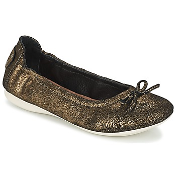 Shoes Women Flat shoes PLDM by Palladium MOMBASA Gold / Black