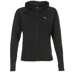 Clothing Women sweatpants Puma TRANSITION JKT Black