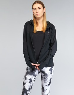 Clothing Women sweatpants Puma TRANSITION JKT Black