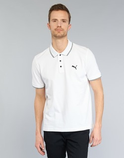 Clothing Men short-sleeved polo shirts Puma PUMA HERO POLO White