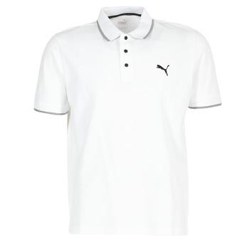 Clothing Men short-sleeved polo shirts Puma PUMA HERO POLO White