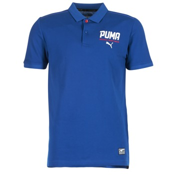Clothing Men short-sleeved polo shirts Puma STYLE TEC POLO Blue